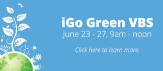 iGo Green VBS Web Banner