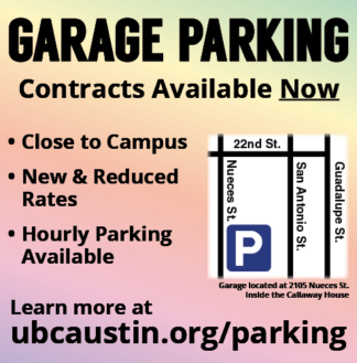Parking Ad, Fall 2014