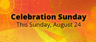 Celebration Sunday Web Banner