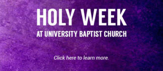 Holy Week Web Banner
