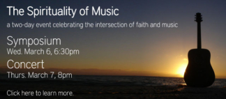 The Spirituality of Music Web Banner