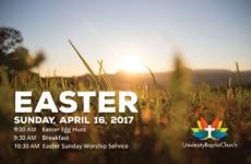 Easter 2017 Postcard