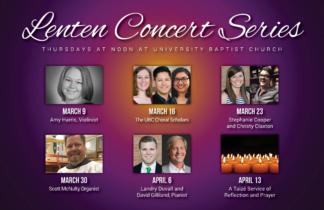Lenten Concert Series 2017 Postcard