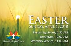 Easter 2018 Postcard