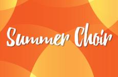 Summer Choir Web Banner